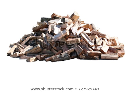 Chopped firewood logs for winter fire Stock photo © MarySan