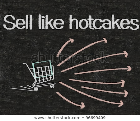 Sell like hotcakes idiom Stock photo © bluering