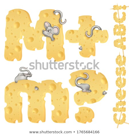 Alphabet  M is for mouse Stock photo © bluering