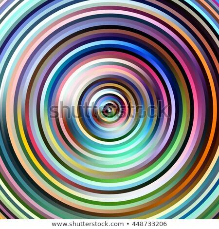 tarka · csíkok · körök · illusztráció · absztrakt · háttér - stock fotó © latent
