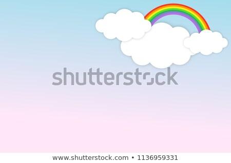 青空 · 雲 · パターン · シームレス · ベクトル - ストックフォト © bluering