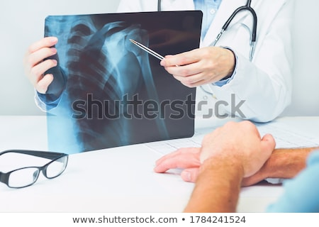 Stock photo: patient to visit orthopedics