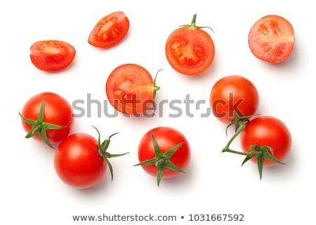Halved red cherry tomatoes Stock photo © Digifoodstock