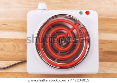 red hot stove element stock photo © ca2hill