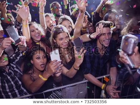 fans · discothèque · festival · de · musique - photo stock © wavebreak_media