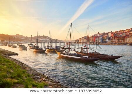 borászat · Portugália · tank · hordó · bent · bent - stock fotó © homydesign