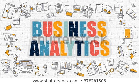 Business Analytics in Multicolor. Doodle Design. Stock photo © tashatuvango