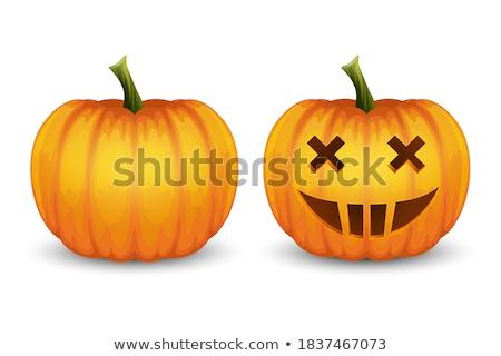 Halloween pumkin illustration Stock photo © user_11416357