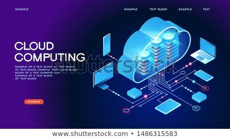web · ontwikkeling · laptop · scherm · landing - stockfoto © tashatuvango