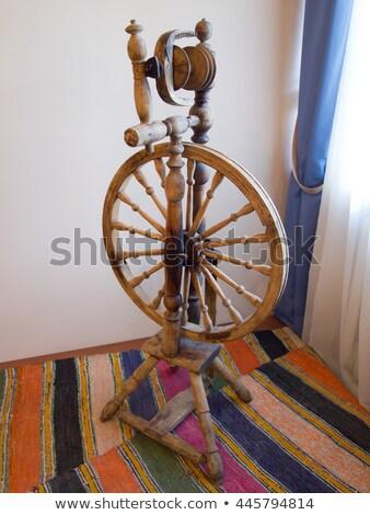 Former Russian spinning wheel for thread Stock photo © Valeriy