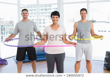woman with hoop around waist Stock photo © IS2