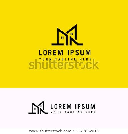 entrada · porta · logotipo · casa · imóveis · abstrato - foto stock © taufik_al_amin