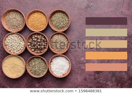 farklı · biber · gıda · mutfak · beyaz · pişirme - stok fotoğraf © dash