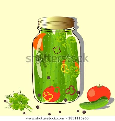 Foto stock: Tomates · ícone · agrícola · produto · vermelho