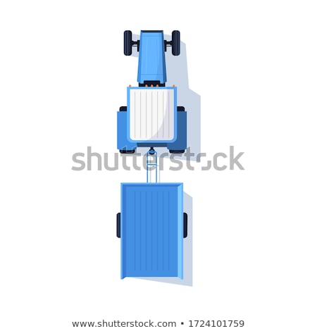 Transporte trator veículo carro vetor Foto stock © robuart