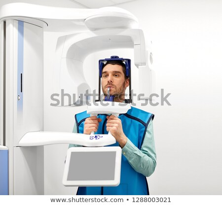 patient · xray · dentaires · clinique · médecine · dentisterie - photo stock © dolgachov