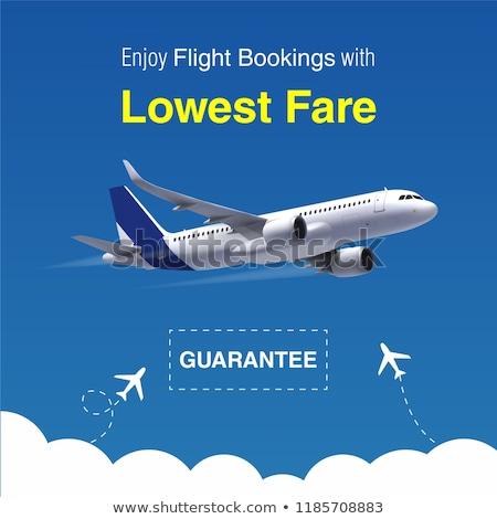 Cheap flights banner Stock photo © Genestro