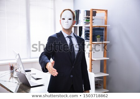 Sleazy Salesman Offering Handshake Stock photo © AndreyPopov