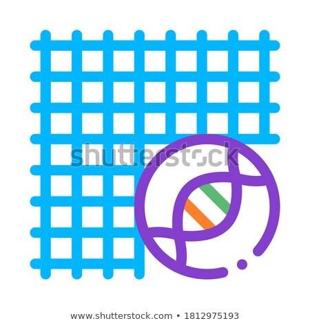 Medical Surgical Mesh Biomaterial Vector Icon Stock photo © pikepicture