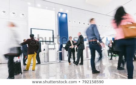 Trade show booth Stock photo © montego