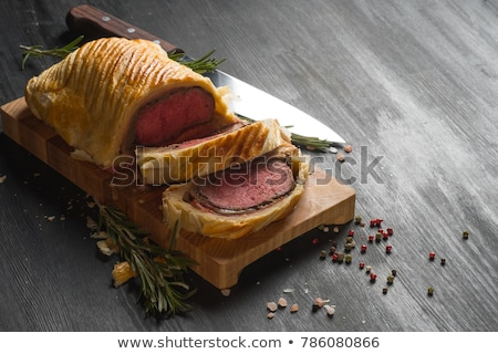 Carne Wellington inteiro prato carne Foto stock © Alex9500