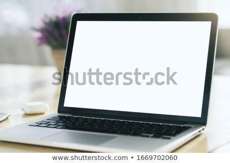 Personal Computer Monitor, Laptop Screen Closeup Stock photo © robuart