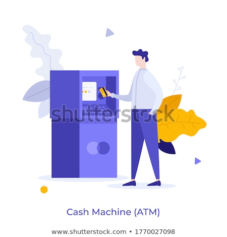 Deposit withdrawal vector concept metaphor Stock photo © RAStudio