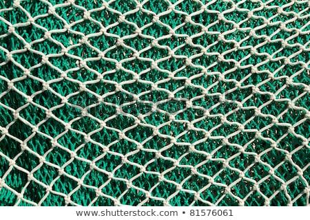Fishing nets and tackle in Andratx port from mallorca Stock photo © lunamarina