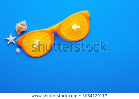 eldobható · teríték · szett · színes · műanyag · izolált - stock fotó © ruslanomega
