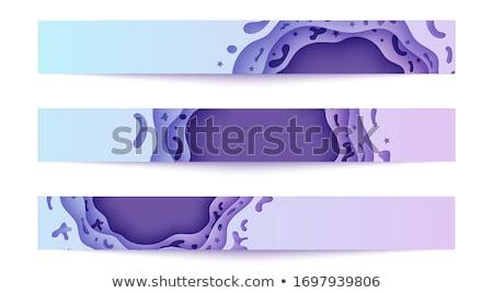 three abstract banners Stock photo © marinini