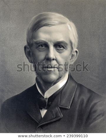 Oliver Wendell Holmes, Sr. Stock photo © Stocksnapper