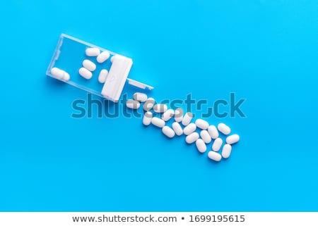 камедь капли белый конфеты небольшой Сток-фото © rcarner