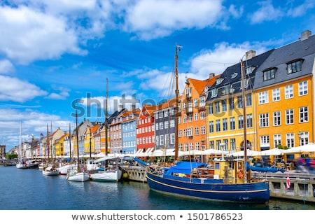 nuovo · porto · Copenhagen · Danimarca · yacht · colore - foto d'archivio © leeser