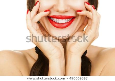 Braces Corrective Orthodontics Stock photo © adrian_n