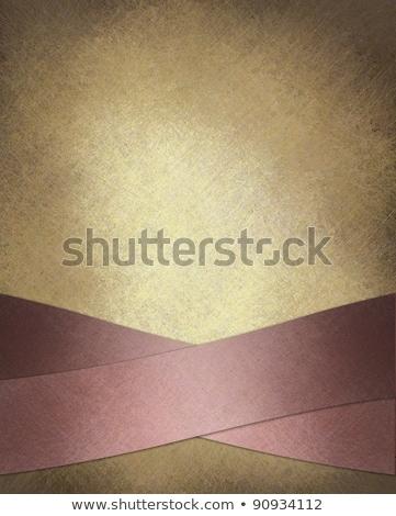 Valentijn licht bruin label hand tekening Stockfoto © Elmiko