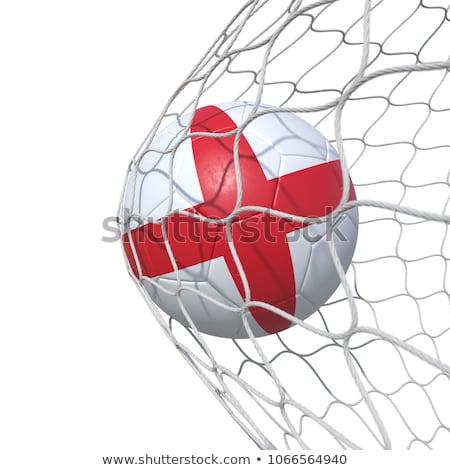 angol · futballabda · futball · gyufa · labda · 2012 - stock fotó © bestmoose