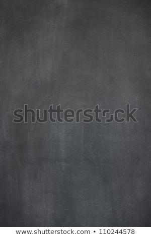 教育 書かれた 黒板 チョーク テクスチャ 手 ストックフォト © bbbar
