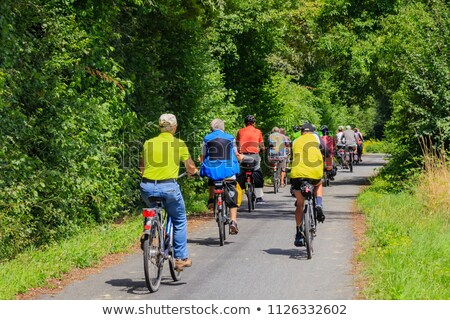 group of senior people on bikes Stock photo © photography33