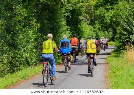 group of senior people on bikes stock photo © photography33