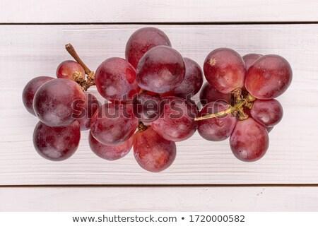Keresztmetszet grapefruit zöld levél izolált fehér közelkép Stock fotó © boroda