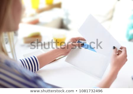 Hand and mail Stock photo © vlad_star