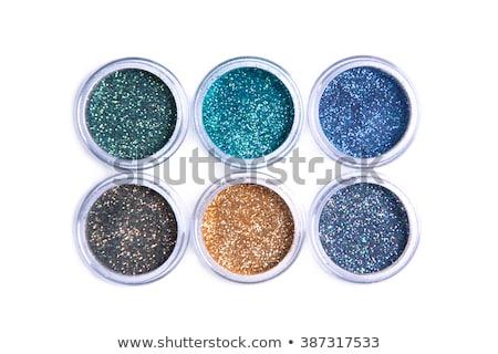 Foto stock: Mineral · ojo · sombra · blanco · arena