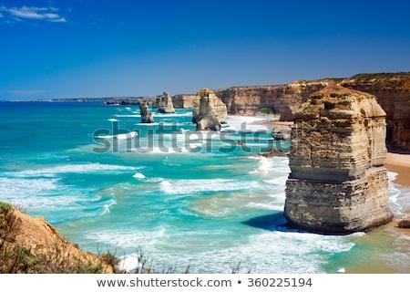 Twaalf kust Australië kustlijn wild oceaan Stockfoto © roboriginal