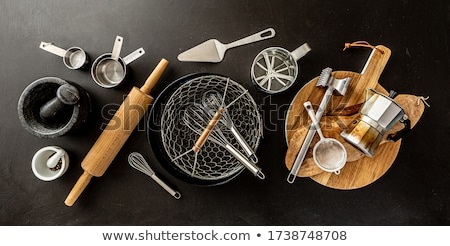kitchen objects Stock photo © perysty