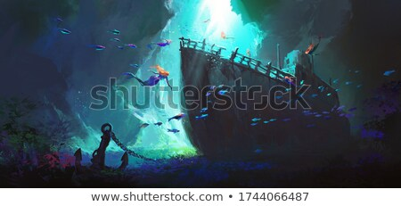 A Mermaid's Discovery Stock photo © AlienCat