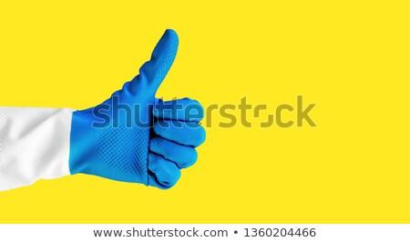 Giallo guanti di gomma Foto d'archivio © wavebreak_media