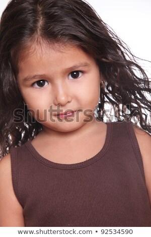 Ernstig asian gezicht Stockfoto © KMWPhotography