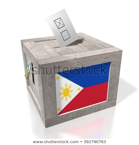Ballot box Philippines Stock photo © Ustofre9