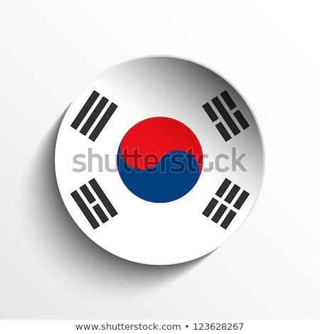 3D · bayrak · Asya · demokratik · halklar · cumhuriyet - stok fotoğraf © gubh83