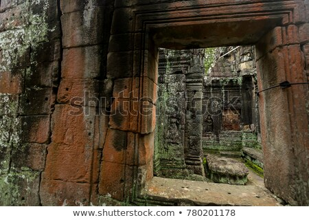 Thommanon temple in  Angkor   Cambodia Stock photo © ldambies